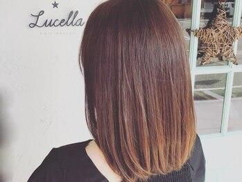 ルチェラ(Lucella)の写真/ヘアカラーの本質は「思い通りの発色」を叶えることです。髪の状態に合わせ、傷みを抑えた施術をご提案♪