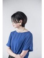 ヘアデザイン ロッコ(hair design ROCCO)大人可愛いハンサムショート