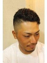 ディスパッチヘアー 甲子園店(DISPATCH HAIR)ウェーブシンサイ刈り