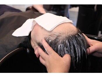 リッカヘアーメイク (ricca hair make)の写真/【奈良で希少★】本格バリ式ヘッドスパで頭皮の汚れを除去するのはもちろん疲れを解消したい方もオススメ◎