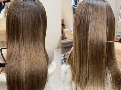 ヘアサロンアンドヘアメイクディー(hair salon hair make D)の写真