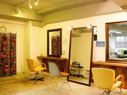 ヘアー デザイン ルーム ハレ(HAIR DESIGN ROOM hale)の写真