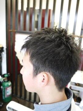 アゲイシ(hair club AGEISHI)スッキリショートスタイル