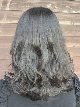 プログレス 成田店(PROGRESS by ヂェムクローバーヘアー)の写真/【大人女性への上質カラー】髪へのダメージを最小限に抑えて艶髪に♪オーガニックカラー取り扱い有♪