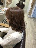 【50代前半×会社員】イオンパーマ+電子トリートメント