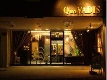 クオヴァディス(Quo VADIS)の雰囲気(道から少し奥まった店舗です。)