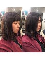ビーヘアサロン(Beee hair salon)【渋谷エクステ・カラーBeee/安部 郁美】NewStyle小顔エクステ
