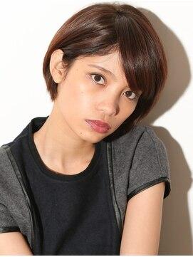 アリシアヘアー(ARISHIA hair)【ARISHIA hair 那珂】丸みショート 耳かけ ナチュラルボブ ♪