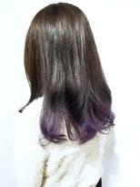 ローグ ヘアー 金町店(Rogue HAIR)ローグヘアー【高 和宏】毛先グラデーションカラーパープル