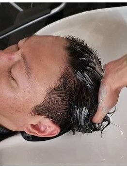 """ソウホウ ニューヨーク イオン神戸南店(SOHO new york)の写真/【カット+ヘッドスパ¥4730】死海の泥を使った""""クレイヘッドスパ""""!生き生きとした髪と頭皮が手に入る◎"""