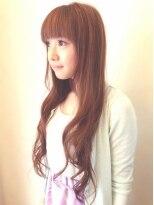 ヘア デザイン スタイリー(Hair Design stylee)透明感のある外国人風アッシュの超ロングstylee