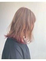 ヘアメイク オブジェ(hair make objet)innerpink color☆★KAI☆★