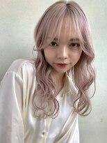 デコ(DECO)《RYUSEI》ホワイトピンク ハイトーン ダブルカラー