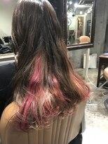 サロンドミルク 原宿(salon de MiLK)サロンドミルク デザインカラー ピンク