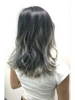 ヘアーサロン エール 原宿(hair salon ailes)(ailes 原宿)style406 マットグレーグラデーション
