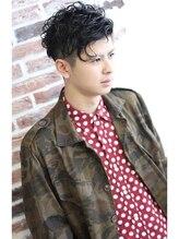 ヘアスタイリングルーム バター(hair styling room butter)【butter辻憲太郎】セクシー×ブロックカール