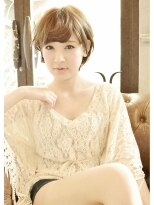 LAUREN☆Feminine short Bob Style♪tel0112328045