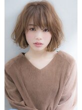 ウィービーパセリ(webeparsley by Johji Group)無造作ウェーブが可愛いフリンジボブ☆タンバルモリ