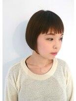 テラスヘア(TERRACE hair)ミニボブ × ウォームベージュ
