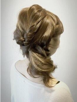 ヘアープレイス ガガ(Hair place GAGA)の写真/【洗い流さないTRプレゼント!】女性らしい香りが大人気の「ジェミールフラン」で手触りの良い艶髪へ♪