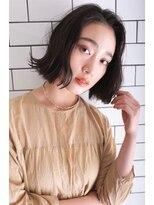 バッテリー ヘアアンドメイク 塚本店(Battery hair&make)ラフボブ