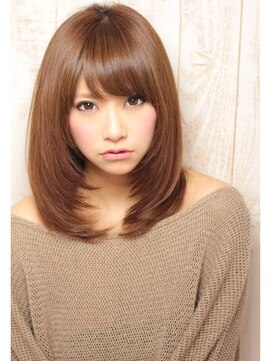 面長さんに似合う髪型別9つポイント/アレンジの3つのポイント