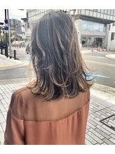 ヘアーデザイン フルーツ(Hair Design FRUITS)コントラストカラー