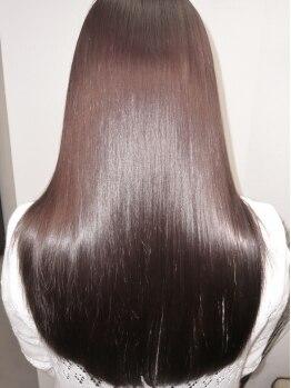 アレーズ ヘアー(a'laise hair)の写真/健康的な美しい髪を創るメディカルトリートメントが◎まるで生まれたての髪のようなツヤめくスタイルに◇