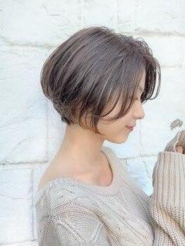 ガリカ ミナミ アオヤマ(Gallica minami aoyama)の写真/『髪質改善カラー+ケアブリーチ』の組み合わせで、ダメージレス&アナタに似合うカラーを提案☆