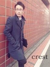メンズエリアクレスト(Men's area crest)ツーブロック#ショート#73分け#crest