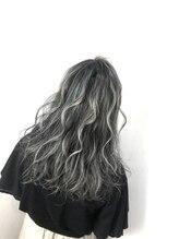 マテリアル(material)ホワイトブルージュ【ハイライトカラー】【外国人風・透け感】