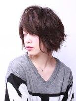 ブラン(Blanc)【Blanc hair】くしゃっとスウィングショート