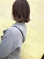 ケンジ 横浜(KENJE)#春ボブ#ハイライト#ピンクベージュ