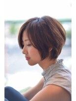【名駅】大人女性の美人UPなナチュラルボブ