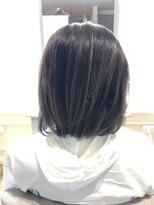 ブレスヘアーデザイン(BLESS HAIR DESIGN)バレイヤージュ×ショートレイヤー