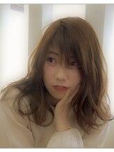 ヘアー カフェ コトノハ(hair cafe kotonoha)【コトノハ】大人かわいい レイヤー ブランジュ  小顔