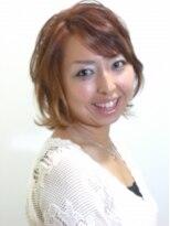 エクシーオザワ(EXY OZAWA)かわいいボブスタイル
