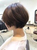 エトネ ヘアーサロン 仙台駅前(eTONe hair salon)【30代からオススメ】柔らかショートボブ