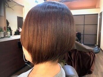 リンクヘアー(Link Hair)の写真/【シルエット美人に*】生えグセ・骨格・髪質を見極め、あなたの個性を生かしたショートスタイルを提案◎