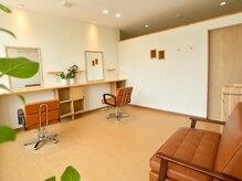 ヘアサロン レア 高崎(Lea)の雰囲気(全てのセット面が半個室スペースとなっているプライベート空間)