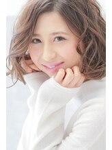 ヘアーアンジェ ノーブル 元住吉店(Hair ange noble)【Hair ange noble】透明感!!プラチナアッシュベージュ♪