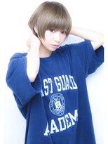 デイズ(days)10代/20代/小顔マッシュショート☆アッシュデザインカラー