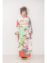 キモノ浪漫(KIMONO)お母様のお着物を可愛くスタイリング
