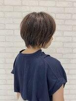 ビス ヘア アンド ビューティー 西新井店(Vis Hair&Beauty)20代30代横顔美人小顔ショート♪ラベンダー