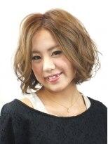 ヘアメイクエシェル 小松店(Hair Make e‐shell)ショートボブ
