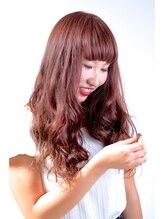 ノイエ (Hair salon Noie)ピンクアッシュ×グラデーションカラー×無造作パーマ