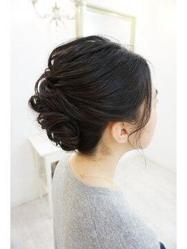 ヘアアンドメイクジップ恵比寿 (Hair&Make ZIP)シンプル大人アップ