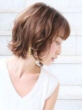 ピエタス ヘアーアンドスパ(PIETAS Hair&Spa)ラフウェーブボブ デザインカラー