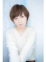 【morio池袋】大人かわいいひし形ショートレイヤー