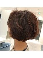 アース 札幌駅前店(HAIR&MAKE EARTH)ショートボブ